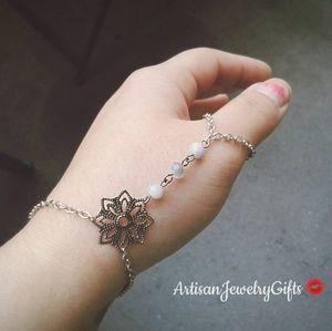 Thumb Slave Bracelet Boho Hand Chain